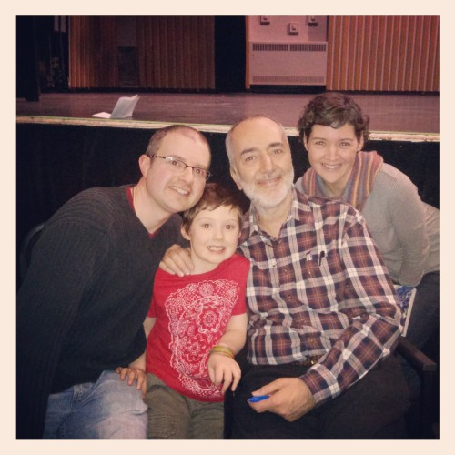 a fabulous, once in a lifetime concert and meeting with Raffi. <3
