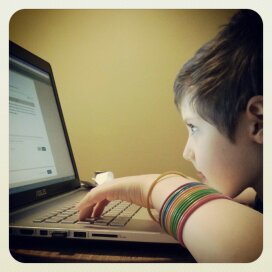 watching you write your first blog post