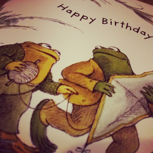 Frog and Toad <3